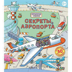 """Книга со створками """"Секреты аэропорта"""" Робинс"""