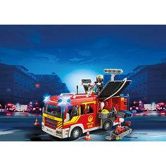 Пожарная машина со светом и звуком, PLAYMOBIL