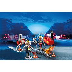 PLAYMOBIL 5365 Пожарная служба: Пожарники с водяным насосом