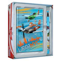 Набор канцелярский: ноутбук и ручка  , Самолеты Академия групп