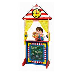 Кукольный театр напольный с доской для мела, Alex