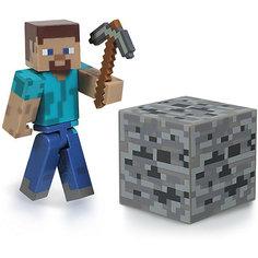 Фигурка Стив, 8см, Minecraft Jazwares