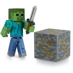 Фигурка Зомби, 8см, Minecraft Jazwares