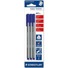 Капиллярная ручка Triplus Liner, синий, Staedtler