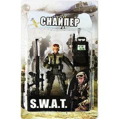 "Фигурка ""Снайпер. Отряд SWAT"" Play Line"