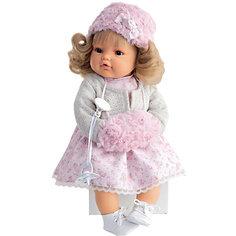 Кукла Белла в белом,  42 см, Munecas Antonio Juan