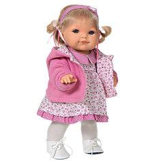 Кукла Эвита в розовом, 38 см, Munecas Antonio Juan