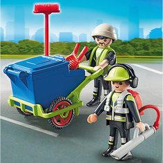 Городские службы: Команда по уборке улиц города, PLAYMOBIL
