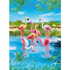 Зоопарк: Стая Фламинго, PLAYMOBIL