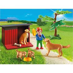 Ферма: Золотые ретриверы с щенками, PLAYMOBIL