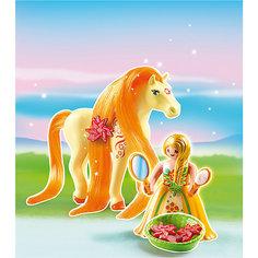 Принцессы: Принцесса Санни с Лошадкой, PLAYMOBIL
