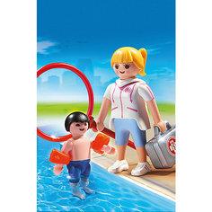 Аквапарк: Супервайзер в бассейне, PLAYMOBIL