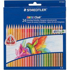 Цветные карандаши NorisClub, 24 цв. Staedtler