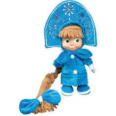 """Мягкая игрушка """"Маша-Снегурочка"""", Маша и медведь, МУЛЬТИ-ПУЛЬТИ"""