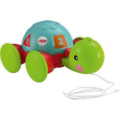 "Каталка ""Обучающая черепашка на колесиках"", Fisher-Price Mattel"