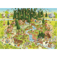 "Пазл  ""Лесной зоопарк"",1000 деталей, Heye"