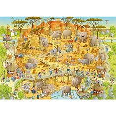 "Пазл  ""Африканский зоопарк"",1000 деталей, Heye"