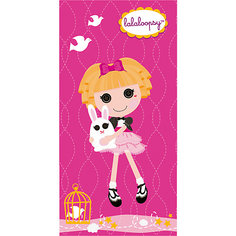 "Полотенце ""Розовая куколка"",  50*90 см, Lalaloopsy Mona Liza"