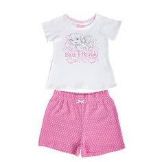 Пижама для девочки Даша-путешественница Button Blue