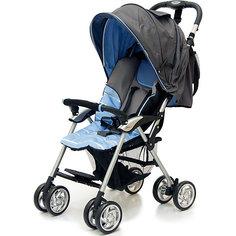 Прогулочная коляска Jetem Elegant, темно-серый/синий, полоска