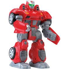 Робот трансформер красный, HAP-P-KID