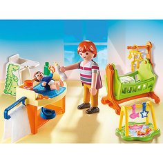Детская комната с люлькой, PLAYMOBIL