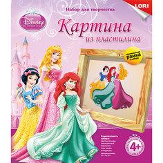 "Картина из пластилина ""Принцессы Disney"", LORI"