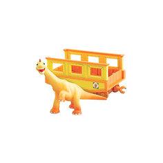 """Игровой набор """"Нэд с вагончиком"""", Поезд Динозавров, TOMY"""