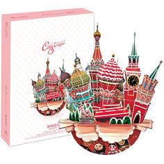 """Пазл 3D """"Городской пейзаж - Москва"""", CubicFun"""