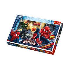 Пазлы Trefl Человек-Паук сражается с недругами,100 элементов