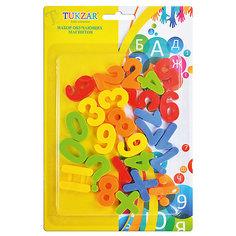 """Набор пластиковых магнитов """"Цифры и счет"""" (26 шт) Tukzar"""