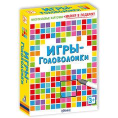 """Карточки """"Игры-головоломки"""" Робинс"""