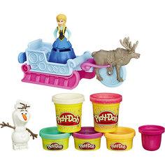 """Игровой набор """"Приключение Анны на санях"""", Холодное сердце, Play-Doh Hasbro"""