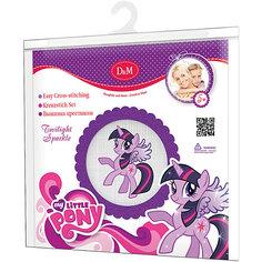 """Набор для вышивания крестиком """"Сумеречная искорка"""", My little Pony"""