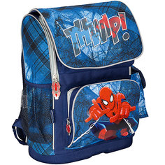 Школьный ранец Человек-Паук с эргономической спинкой Академия групп