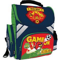 Школьный ранец  Angry Birds с эргономической спинкой Академия групп