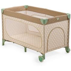 Манеж-кровать Martin, Happy Baby, бежевый