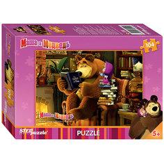 "Пазл ""Маша и Медведь"", 104 детали, Step Puzzle"