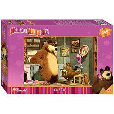 Пазл Маша и Медведь, 360 деталей, Step puzzle