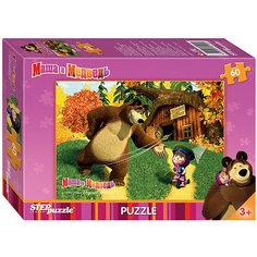"Пазл ""Маша и Медведь"", 60 деталей, Step Puzzle"