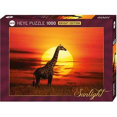 "Пазл ""Жираф на закате"", 1000 деталей, Heye"