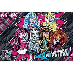 """Подкладка на стол А3 """"Monster High"""" для лепки и рисования Академия групп"""