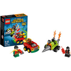LEGO Super Heroes 76062: Робин против Бэйна