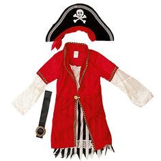 """Маскарадный костюм для мальчика """"Пират Роджер"""", 4-6 лет Magic Time"""