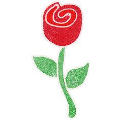 """Наклейка на окно """"Роза"""" Волшебная Страна"""