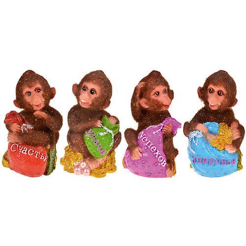 "Статуэтка ""Пушистая обезьянка"" 6*6*9,5 см"