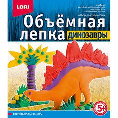 """Набор для лепки """"Динозавры. Стегозавр"""", LORI"""