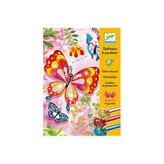 """Раскраска """"Блестящие бабочки"""" Djeco"""