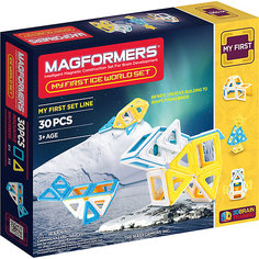 Магнитный конструктор Ice World, 30 деталей, MAGFORMERS