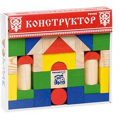 """Конструктор """"Цветной"""" 43 детали,Томик"""